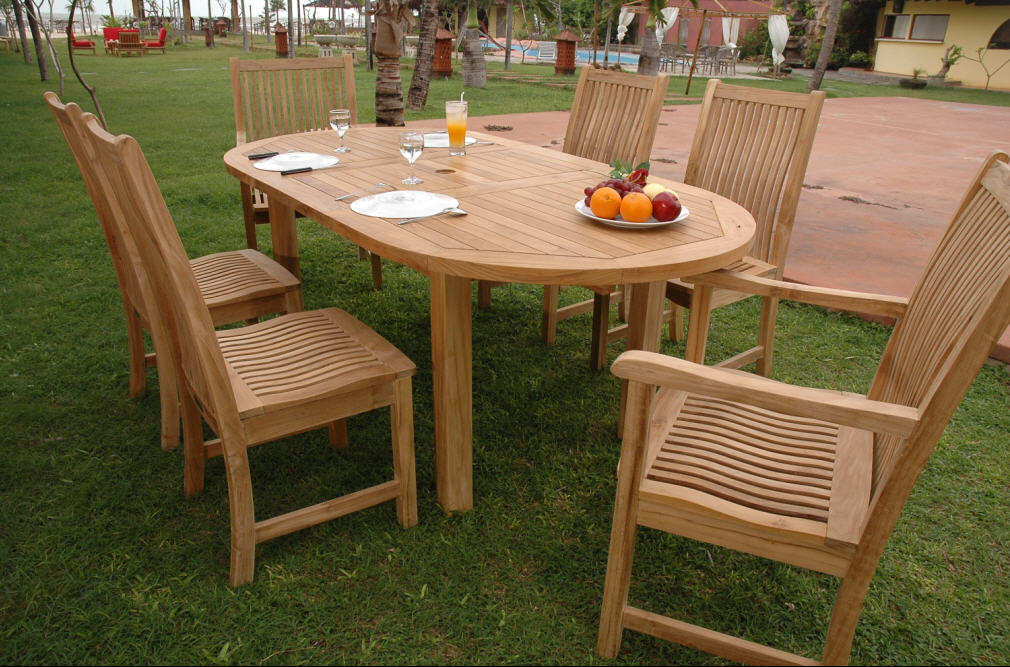 Captivating Outdoor Teak Furniture Part 7